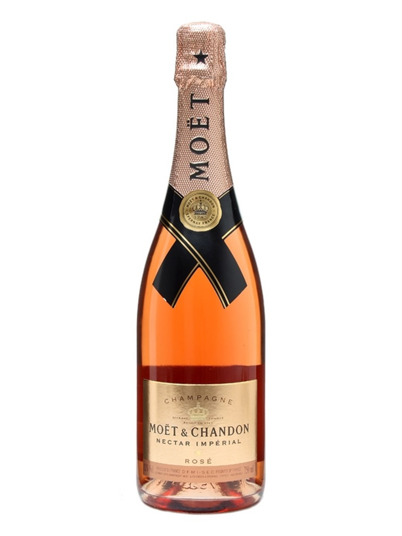 MOET & CHANDON NECTAR  IMPERIAL ROSE  750ml
