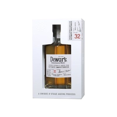 DEWARS DOUBLE DOUBLE AGED 32YRS 750ML