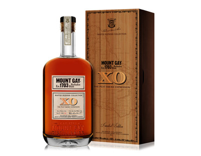 MOUNT GAY 1703 XO THE SMOKE  EXPRESSION 750ML
