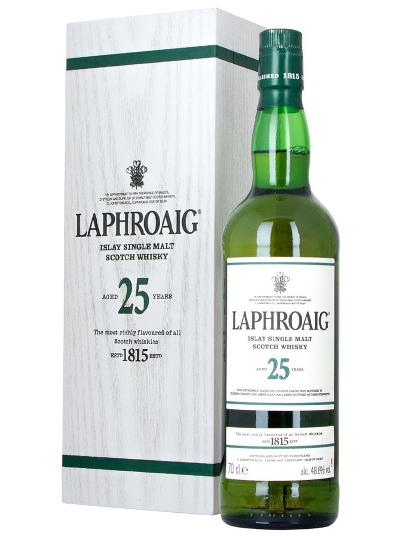 LAPHROAIG 25 YRS 750ML