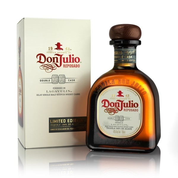 DON JULIO TEQUILA REPOSADO DOUBLE CASK-LAGAVULIN BARREL 750ML